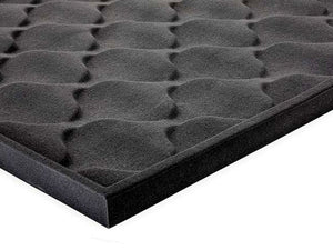 "Acoustic Spade Soundproofing Foam 69""x45""x2"" (2 Pack)"