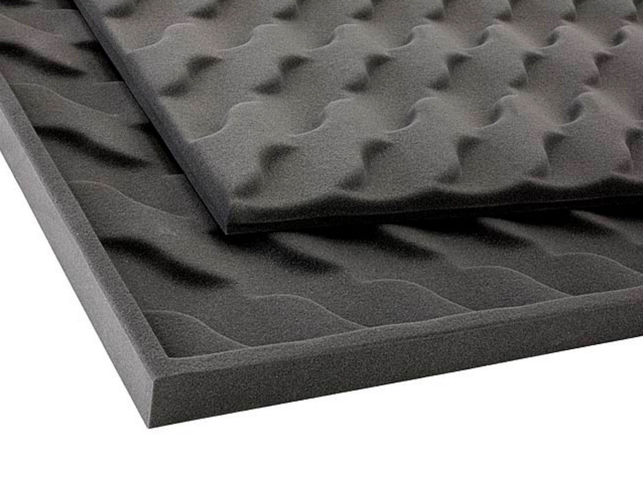 "Acoustic Wave Soundproofing Foam 69""x45""x2"" (2 Pack)"