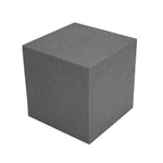 "Acoustic Corner Block Absorber 12""x12""x12"" (2 pack) Charcoal Grey"