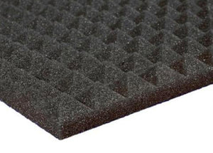"Acoustic Pyramid Foam 1"" (Various Colors & Quantities)"