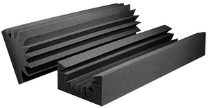 "Male / Female Broadband Absorbers Acoustic Foam 12""x6""x48"" (4 Pack)"