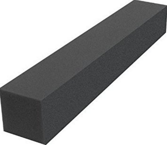 Acoustic Corner Block (Charcoal Grey)