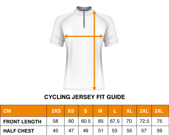 Cycling Size Guide