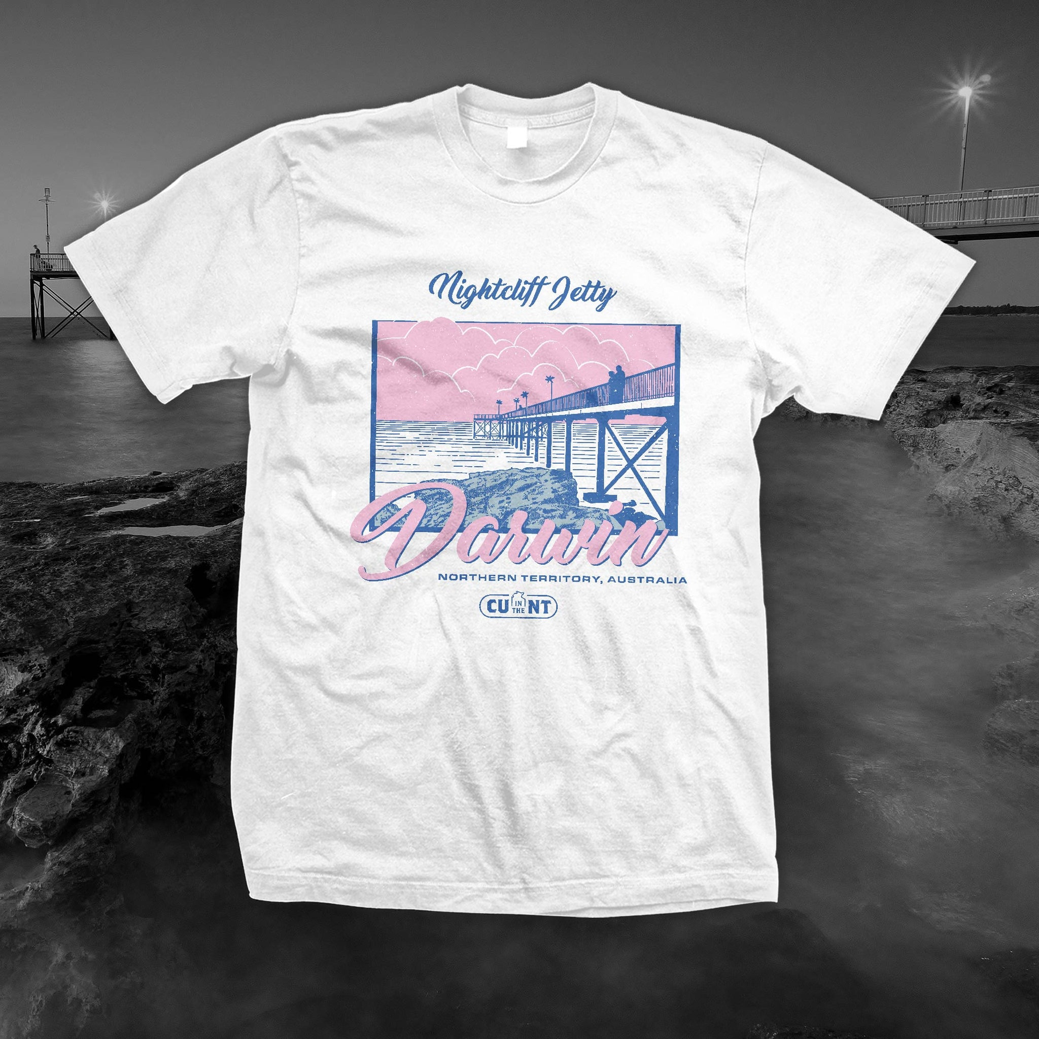 Destination Nightcliff - White Tee