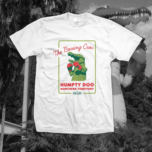 Destination Humpty Doo - White Tee