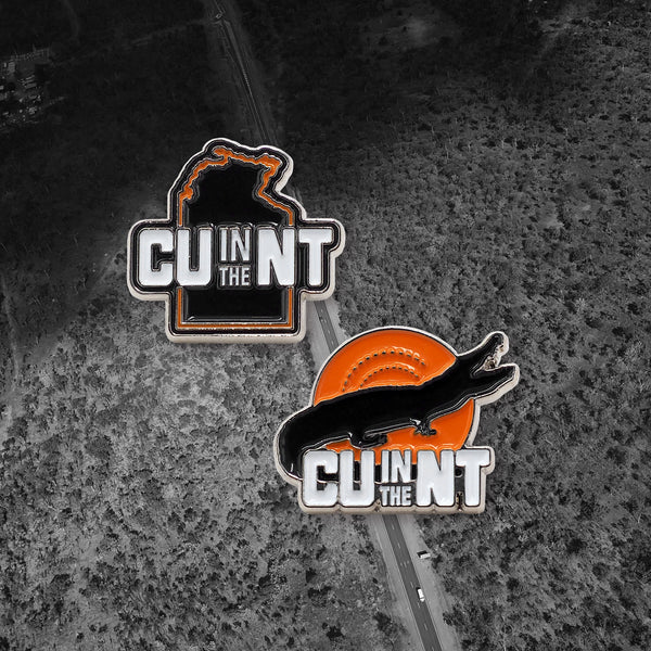 CU in the NT Hat Pins