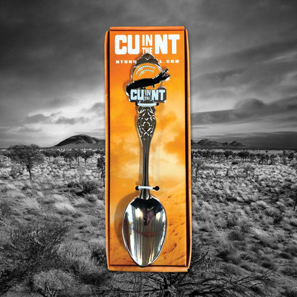 CU in the NT Souvenir Spoon