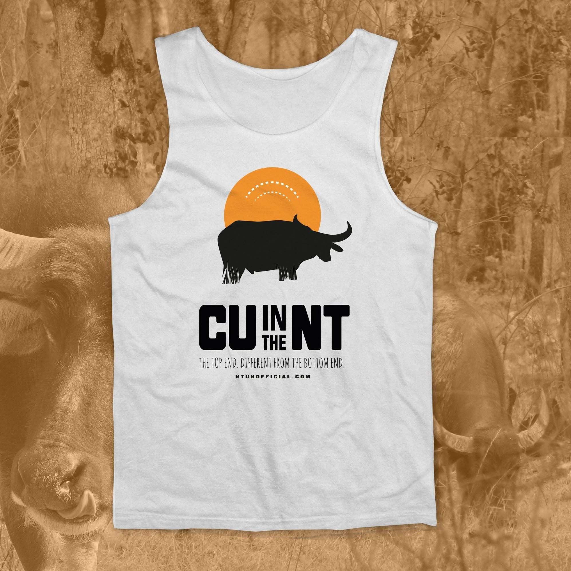 CU in the NT - White Buffalo Singlet