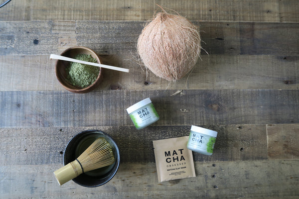 Matcha Obsessed Organic Matcha Facial Clay Mask