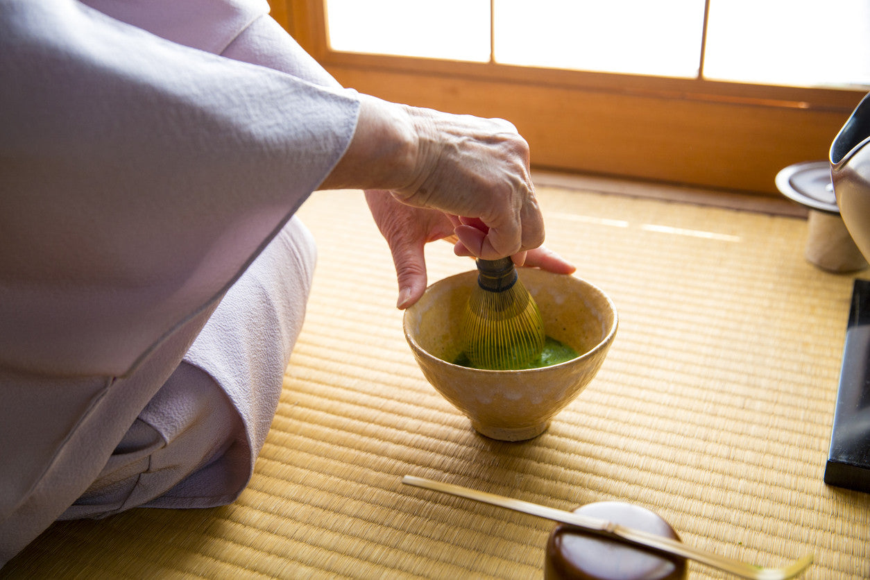 matcha obsessed tea ceremony