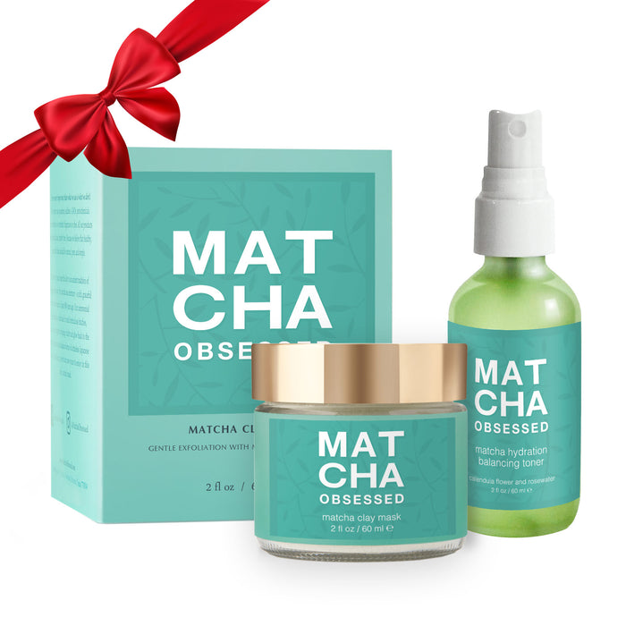 Matcha Obsessed Baby Soft Facial Gift Set + Jade Roller