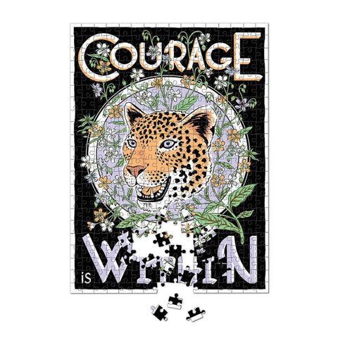 Luckies x Print Club London / Artist Edition Puzzle (500pc) - Courage Is Within