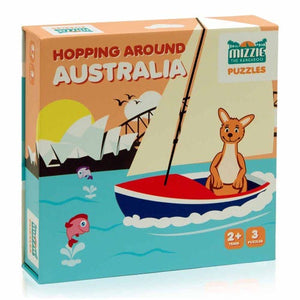 Mizzie / Puzzles Box Set - Hopping Around Australia
