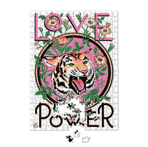 Luckies x Print Club London / Artist Edition Puzzle (500pc) - Love Is Power