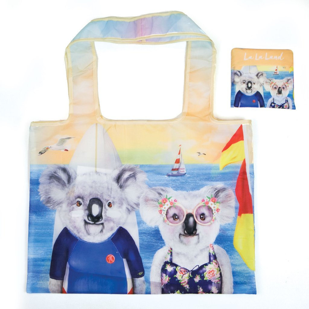 La La Land / Foldable Shopper Bag - Sunshine Lovers