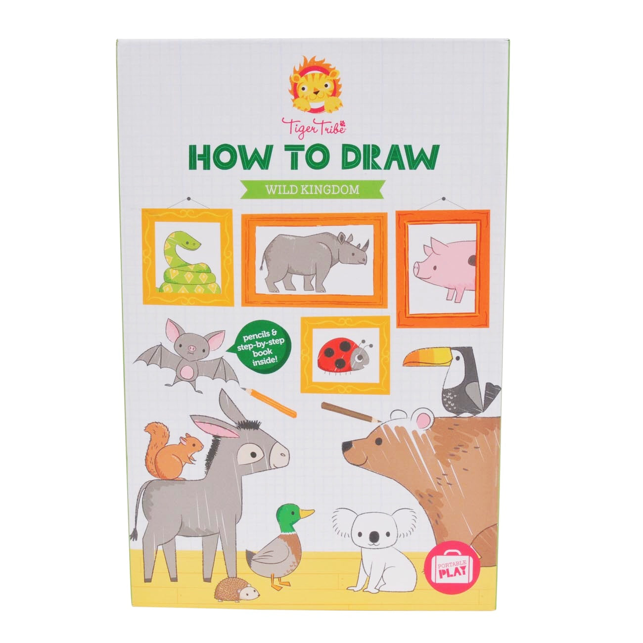 Tiger Tribe / How To Draw - Wild Kingdom