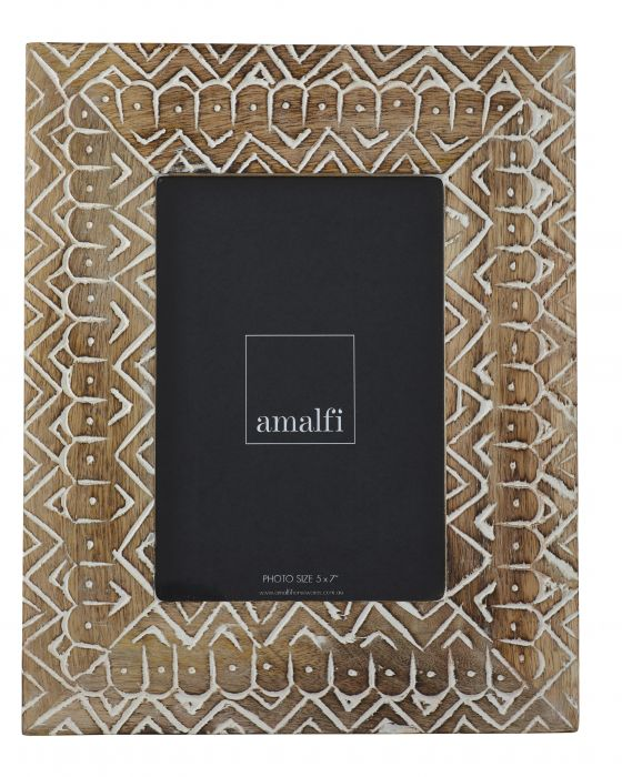 "Amalfi / Hadi Photo Frame (5x7"")"