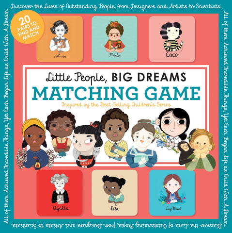 Little People, Big Dreams / Matching Game