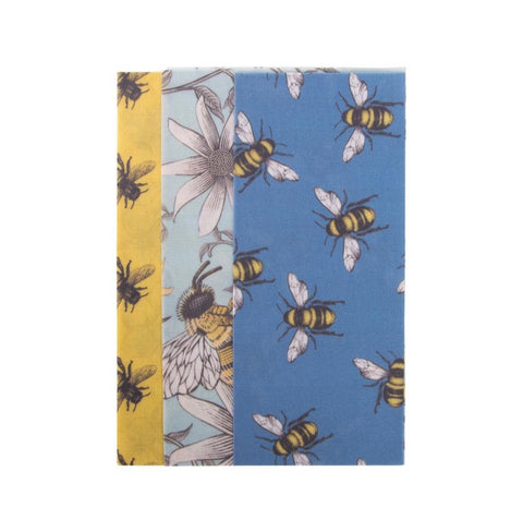 IS Gift / Reusable Beeswax Food Wrap (Set/3) - Bees