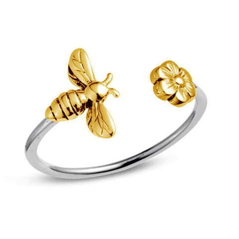 Midsummer Star / Meant To Bee Ring - Gold & Silver