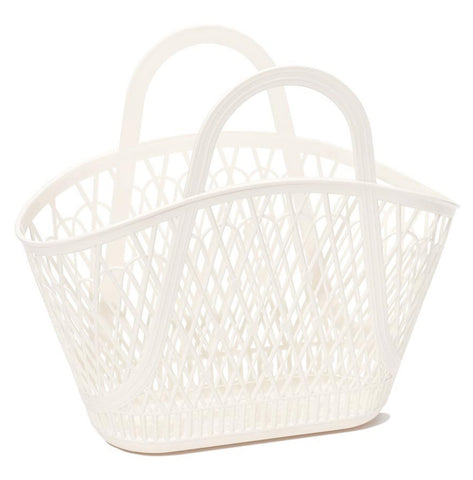 Sun Jellies / Betty Basket (Large) - Cream