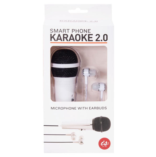 IS / Smart Phone Karaoke 2.0 - Microphone & Earbuds