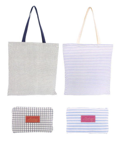 Academy / Foldable Cotton Tote Bag