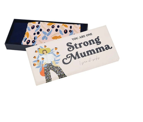 Annabel Trends / Boxed Socks - Strong Mumma (Limited Edition)
