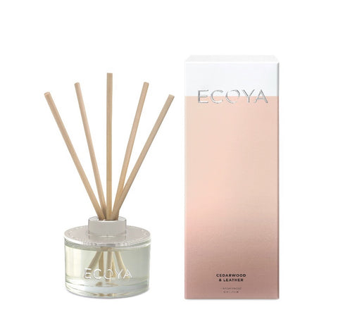 Ecoya / Mini Diffuser - Cedarwood & Leather