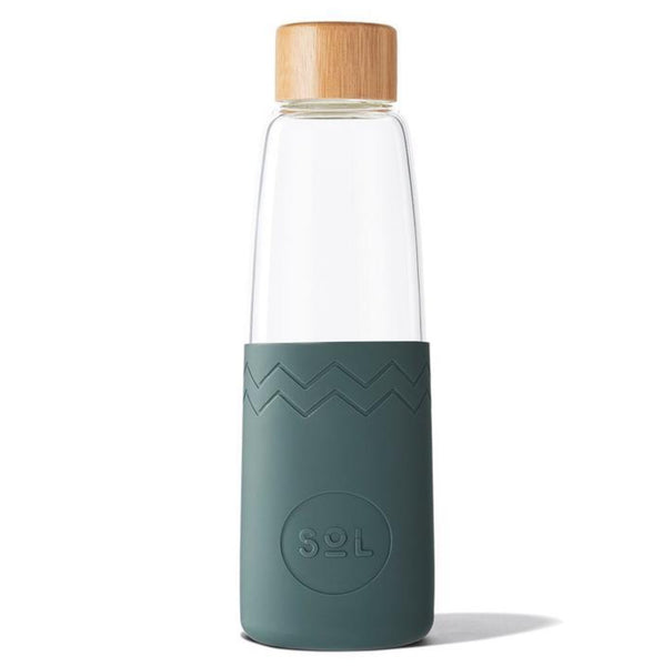 Sol Products / Glass Bottle (850ml) - Deep Sea Green