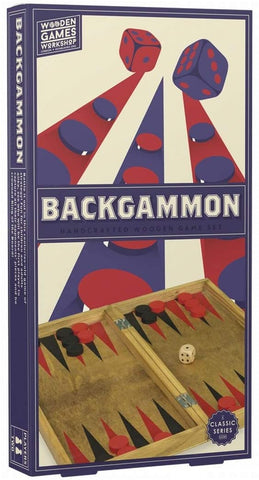 Wooden Games Workshop / Backgammon