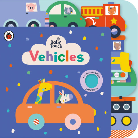 Baby Touch: Vehicles Tab Book - Ladybird
