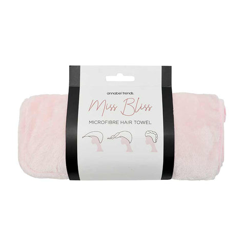 Annabel Trends / Miss Bliss Hair Towel - Pink