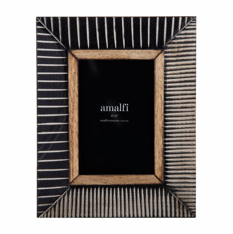 "Amalfi / Deniz Photo Frame (4x6"")"