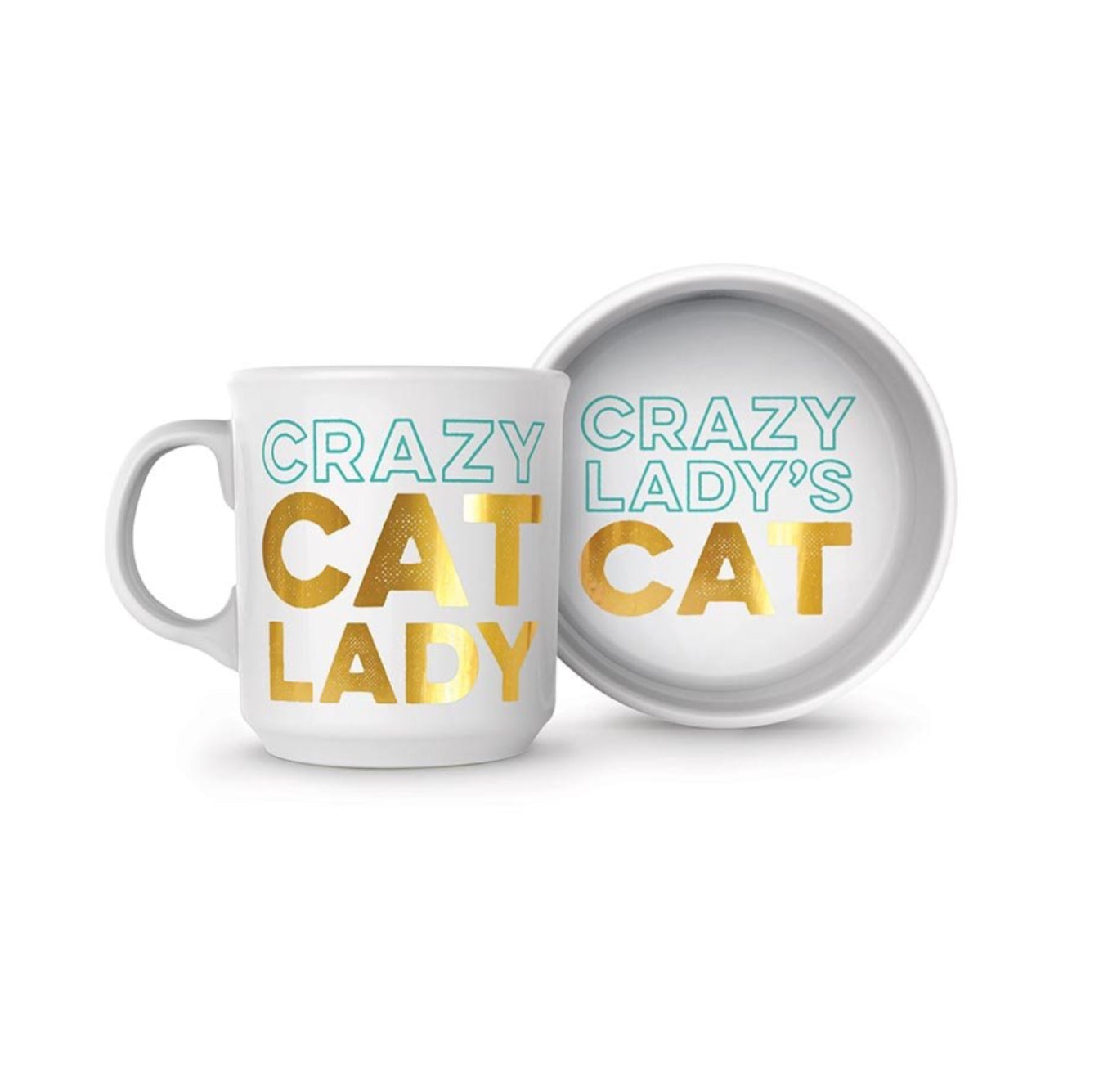 Fred / Cat Person - Bowl and Mug Set