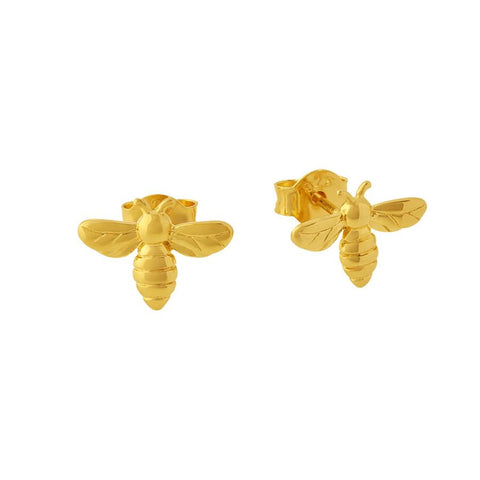Midsummer Star / Delicate Meant To Bee Studs - Gold