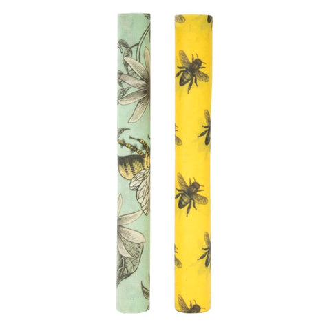 IS / Reusable Beeswax Food Wrap 1 Metre Roll - Bees*