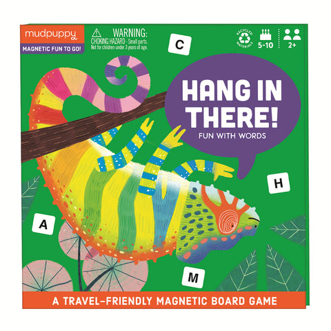 Mudpuppy / Magnetic Board Game - Hang In There!