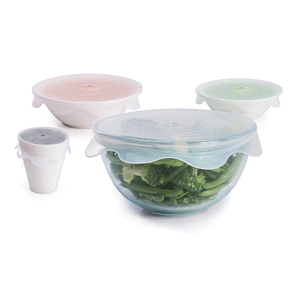 IS / Reusable Microwavable Food Covers (Set 4)