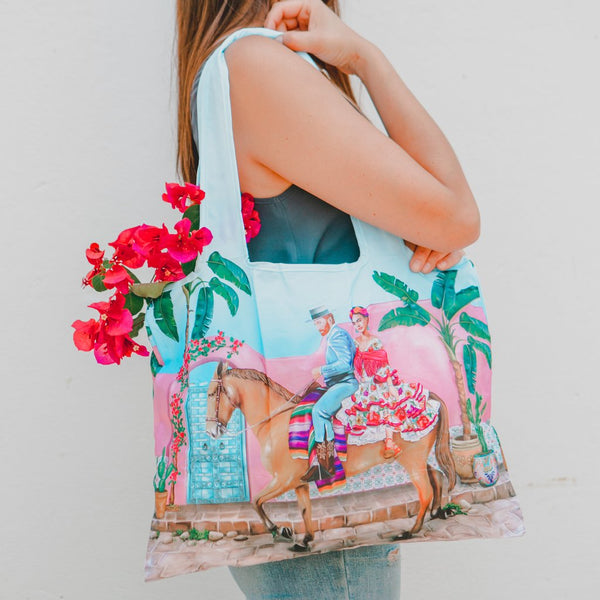 La La Land / Foldable Shopper Bag - Frida's Paradise Vol.2