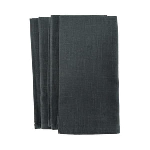 Annabel Trends / Stonewashed Napkins (Set 4) - Charcoal