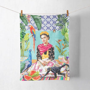 La La Land / Tea Towel - Frida's Paradise