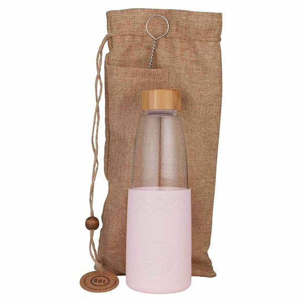 Sol Products / Glass Bottle (850ml) - Perfect Pink