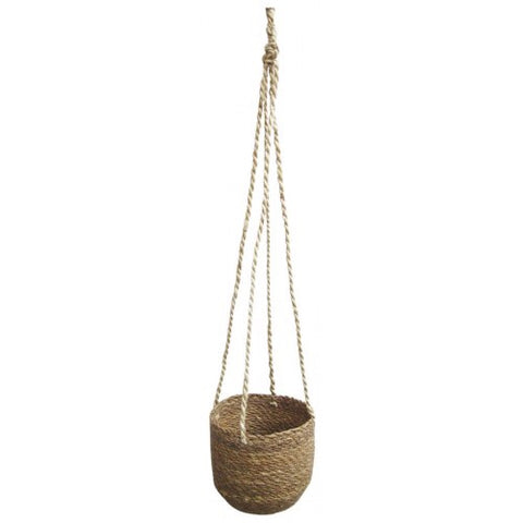 Urban Products / Natural Stitch Hanging Planter (Med)