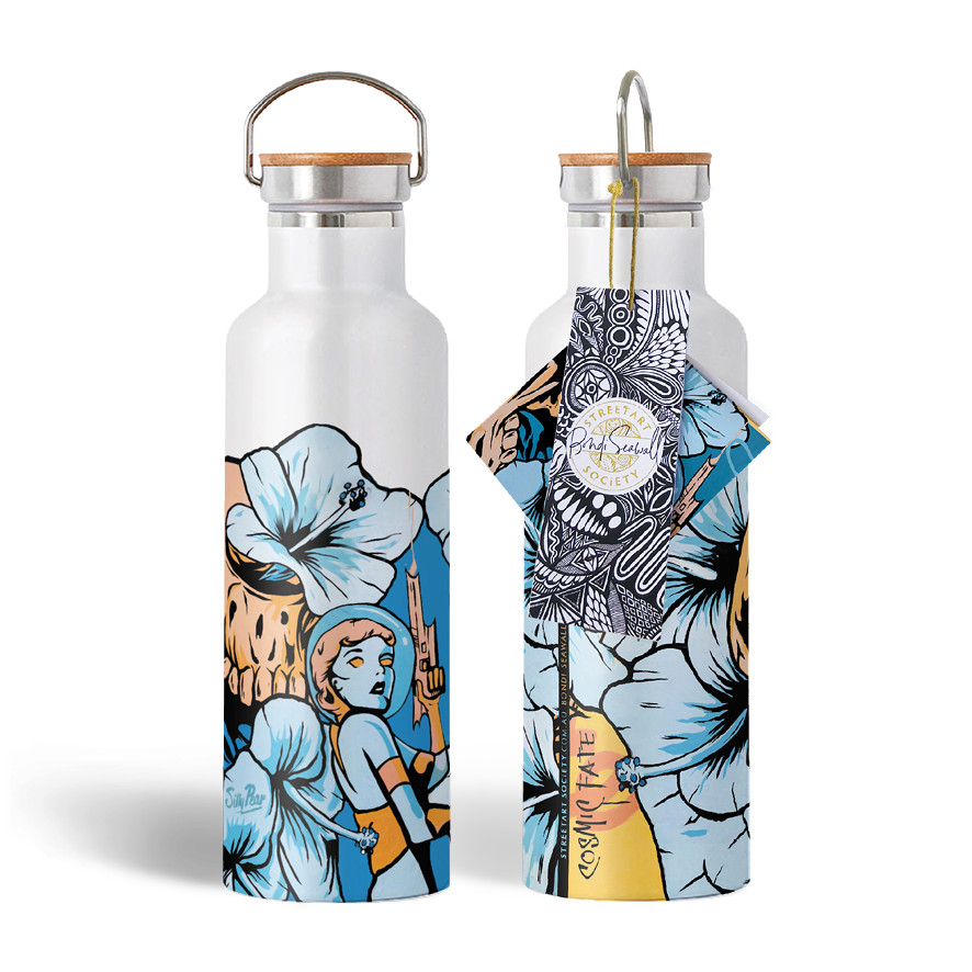 Streetart Society / Water Bottle - Cosmic Fate