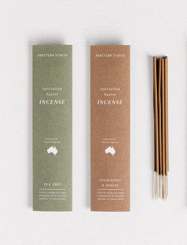 Addition Studio / Incense Pack (Small) - Eucalyptus & Acacia