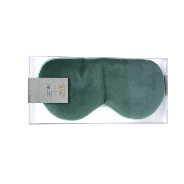 Tonic / Luxe Velvet Eye Mask - Moss
