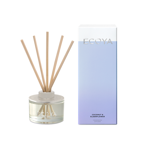 Ecoya / Mini Diffuser - Coconut & Elderflower