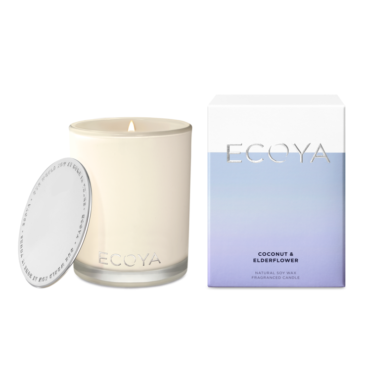 Ecoya / Madison Jar Candle - Coconut & Elderflower