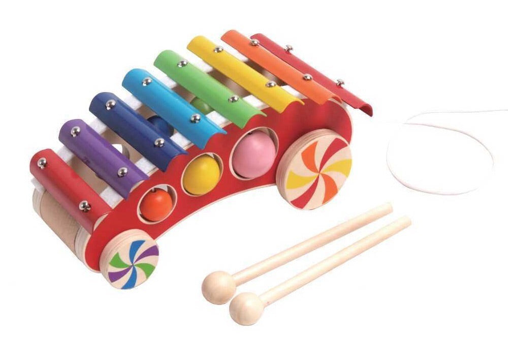 Kaper Kidz / Pull Along Car With Xylophone